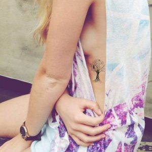 Cute tree tattoos for girls
