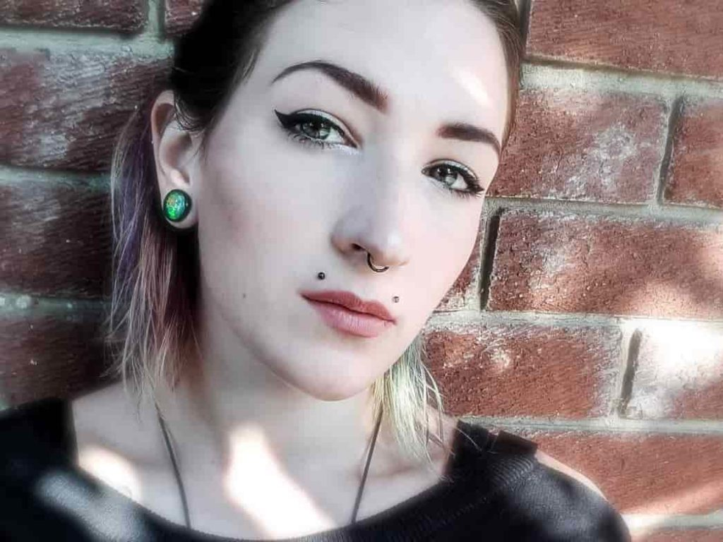 angel bites piercing septum