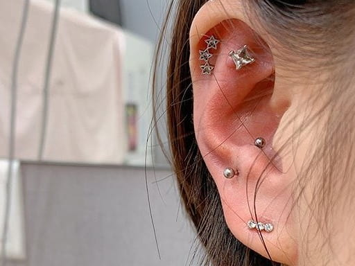 anti tragus cartilage piercing