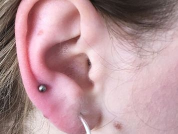 auricle ear piercing cost