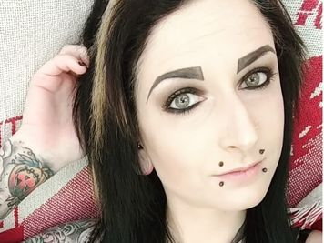 canine bite piercing
