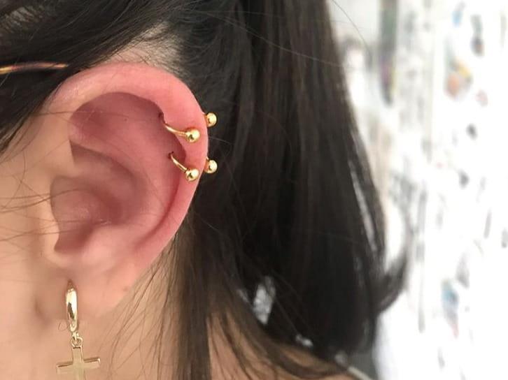 ear gold jewelry