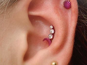conch piercing studs