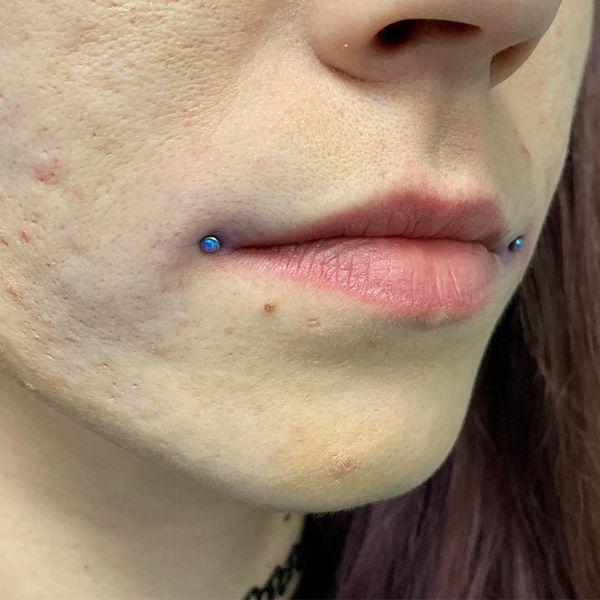 dahlia bites piercing