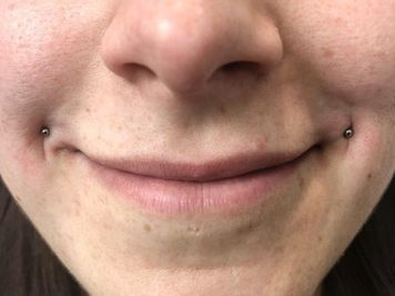 dahlia piercing mini stud