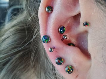 double snug piercing jewelry