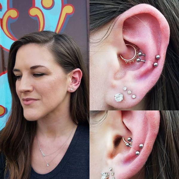 double snug piercing