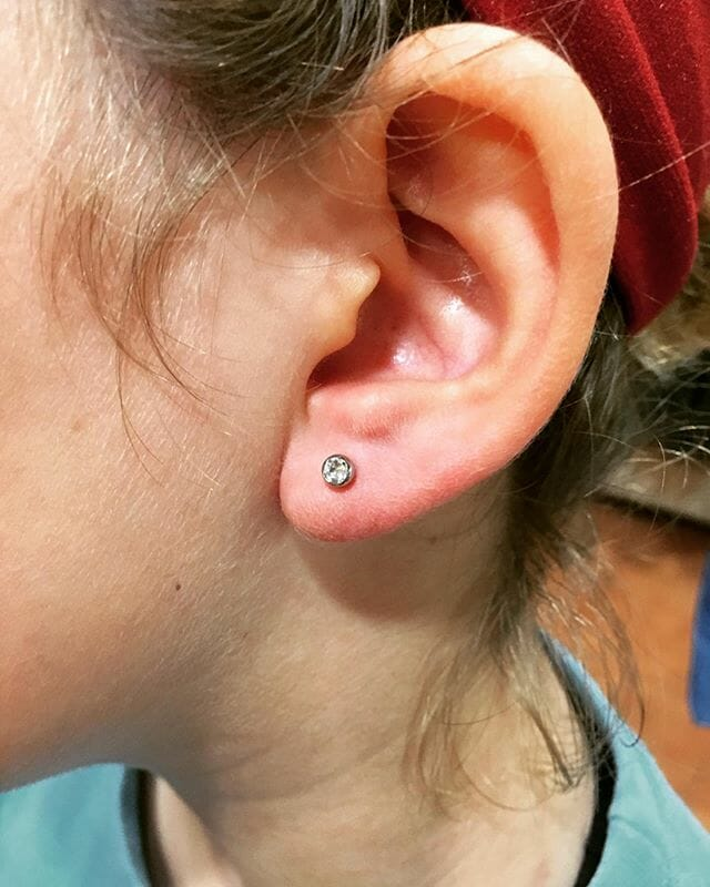 ear lobe piercing pros