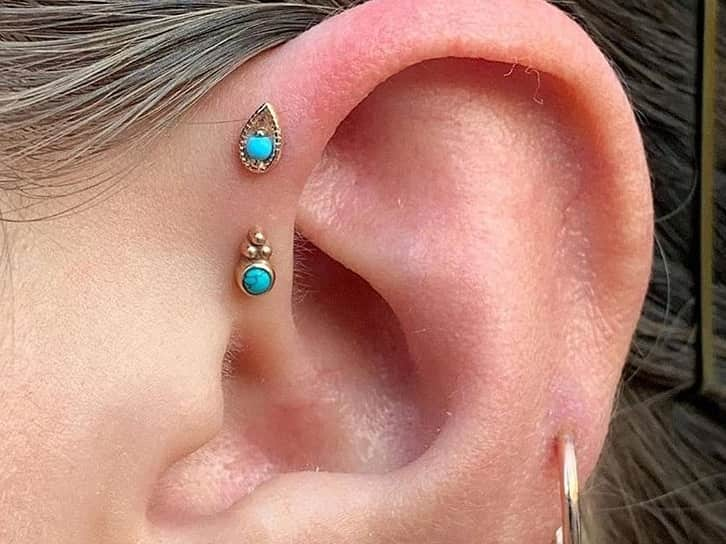 forward helix piercing best jewelry