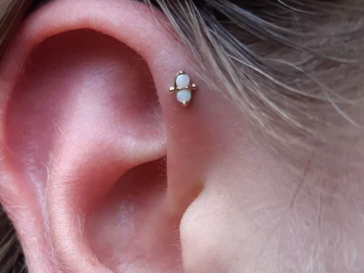 forward helix piercing studs