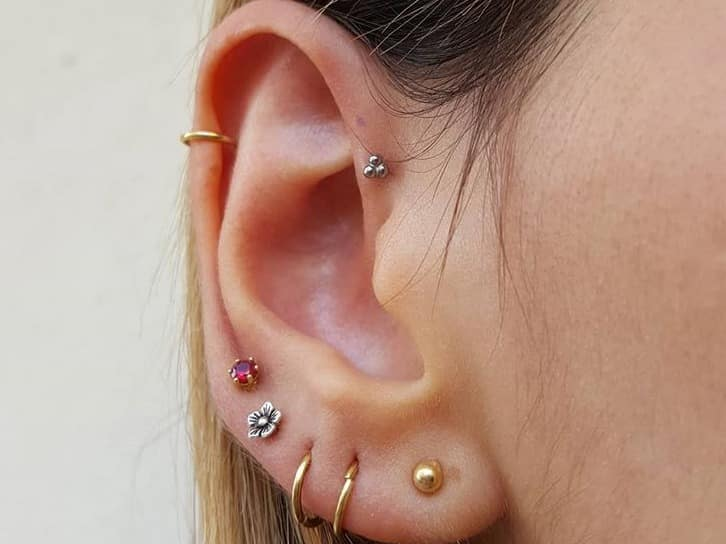 ear lobe jewelry
