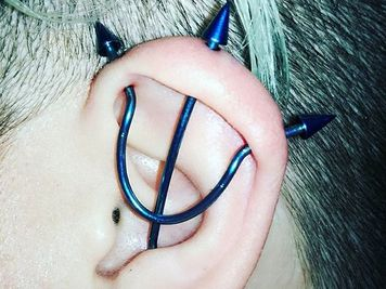 image trident piercing