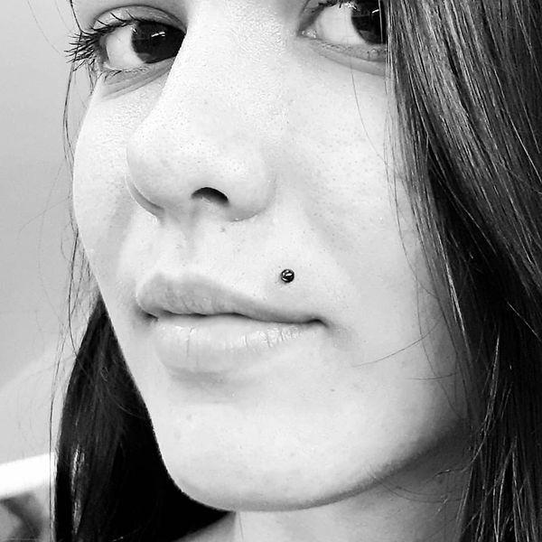 infected monroe piercing