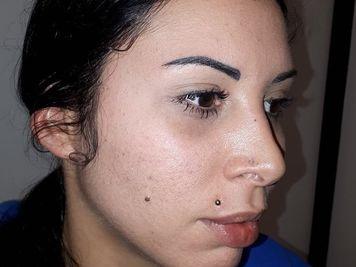 madonna piercing lip jewelry
