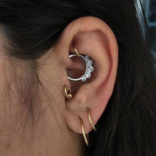rook piercing earrings