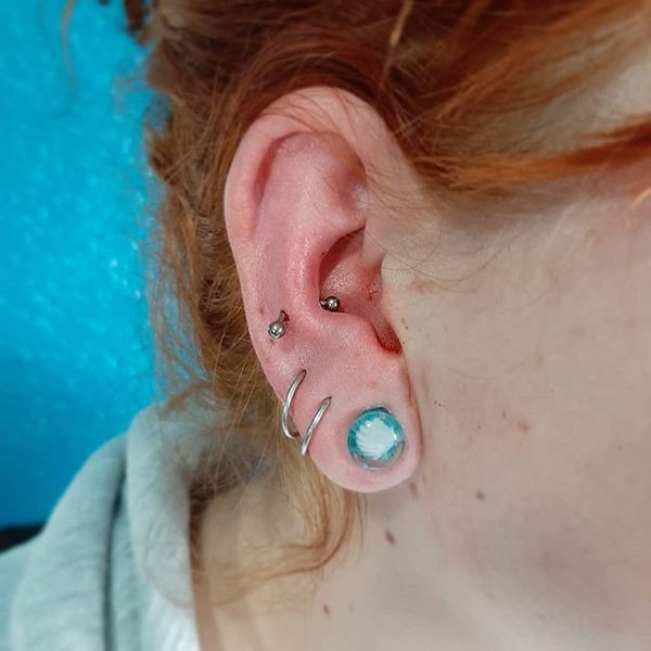 snug and orbital piercing