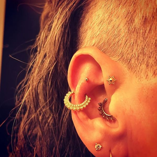 snug piercing healing time
