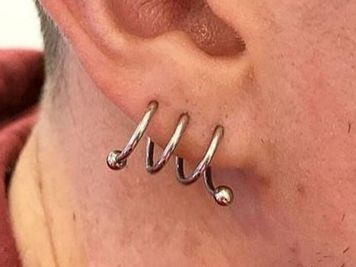 spiral lobe piercing