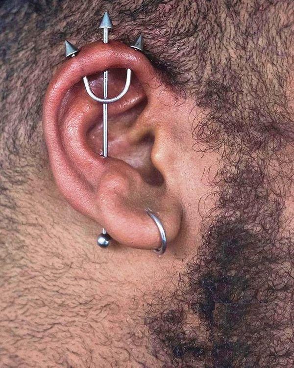 trident industrial piercing