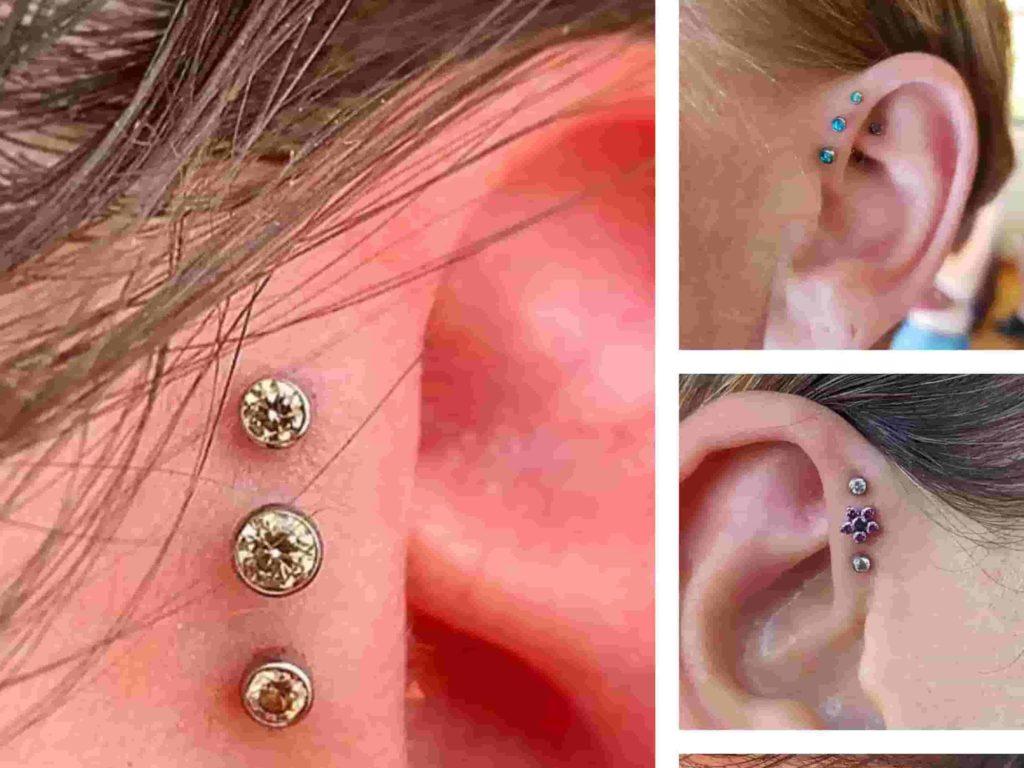 triple forward ear